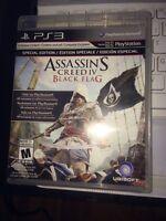 Assassins creed black flag + version ps4