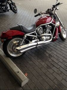 2004 Harley Davidson VRSC, V-Rod,only 625 kms,1130 cc,Red,