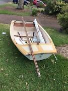 Sabot Sail Boat Coal Point Lake Macquarie Area Preview