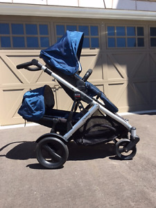Britax B-Ready Single/Double Stroller With Lots Of Extras!