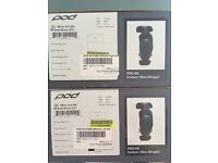 Pod K8 Knee braces L&R Carbon NEW