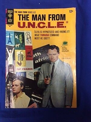 Man From Uncle  1965 1969 Gold Key  6 Vg Photocover   Comics Book P13