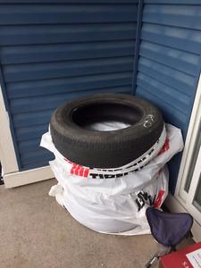 All season Bridgestone Tires P215/70R17
