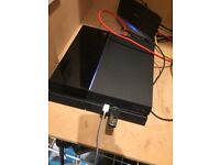 PS4 500Gb excellent condition plus controller and 2 games.