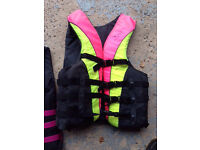 Floatation buoyancy aid x 2 for water skiing/canoeing.