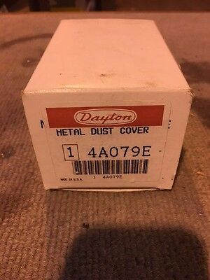 Dayton Metal Dust Cover -4a079e- New W Hardware