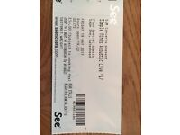 2x Simple Minds Concert Tickets - Gateshead Newcaste - 19th May