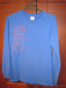 Olympia sports camp long sleeve T size small