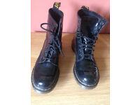 Dr Martens 1460 Patent Black (size 6)