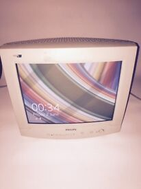 "PHILIPS 14"" CRT COMPUTER MONITOR"
