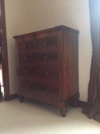Fine Quality Dove Tail Jointed Antique Drawers