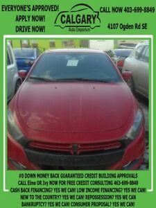 2013 Dodge Dart Rallye * $99 DOWN EVERYONE APPROVED*