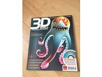 3D World Film Focus/ Shrek 3's key effects Aug 2007 + Free CD