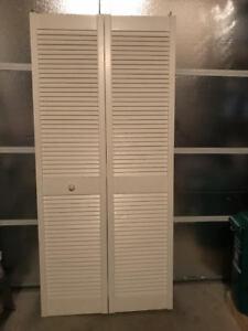 Wooden Folding Closet Door