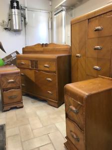 Set de Chambre complet. bois. bedroom furniture wood