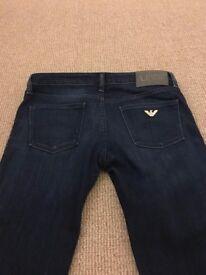 Armani Jeans, navy, size 25
