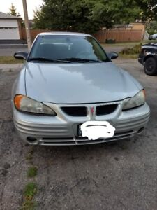 2002 Pontiac Grand am.