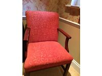 Armchair - perfect for anywhere! Good solid upholstered piece