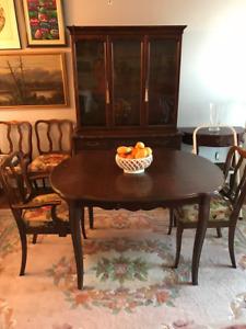 Dining Table & Set for Sale, Asking $300 or Best Offer