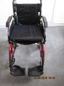 ROMA ADULTS COLLAPSIBLE WHEELCHAIR