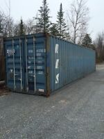 40' STORAGE SHIPPING CONTAINER