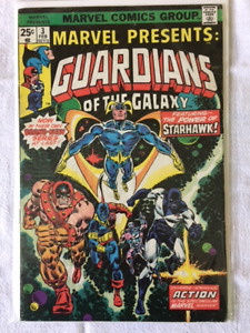 MARVEL PRESENTS #3 comic- 1st solo GUARDIANS OF THE GALAXY - KEY
