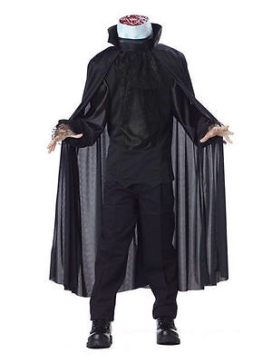Sleepy Hollow Headless Horseman Deluxe Halloween Costume Boy Girl Child SZ - Headless Boy Costume