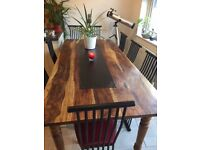 BEAUTIFUL LARGE KITCHEN/DINING TABLE