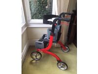 Mobility aid - Medical Red Nitro Wheel Rollator