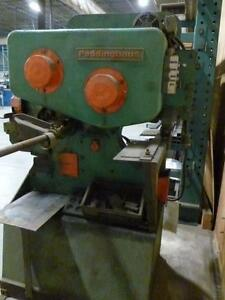 "Ironworker, Peddinghaus 210 Super 11,  44 ton Mechanical, 3-1/2"" x 3-1/2"" x 7/16"" angle capacity, 575 volt 3 phase"