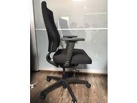 Office Chair - Black Fabric