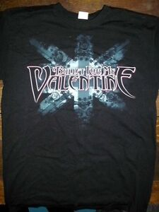 BULLET-FOR-MY-VALENTINE-SECRET-SHOW-T-SHIRT-RARE-NEVER-WORN