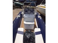 SAC 8.5m RIB with 225hp Mercury Optimax Outboard 2-Stroke For Sale