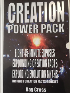 CREATION POWER PACK cassettes by Rev. Ray Cross