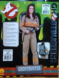 Ghostbusters Costume Woman's Plus Size 16-22