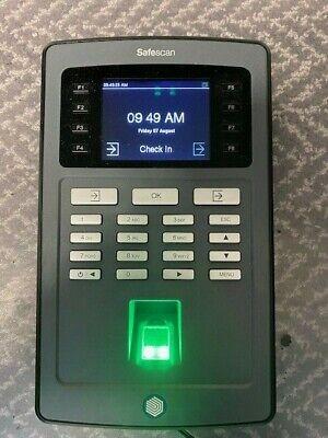 Safescan Fingerprint Scanner Time Clock