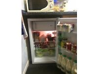 Curry's own brand fridge: only a few days old.