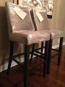 Two Restoration Hardware Barstools - Brand New in Packaging