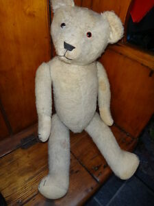 Antique English Teddy Bear c. 1920 West Island Greater Montréal image 3