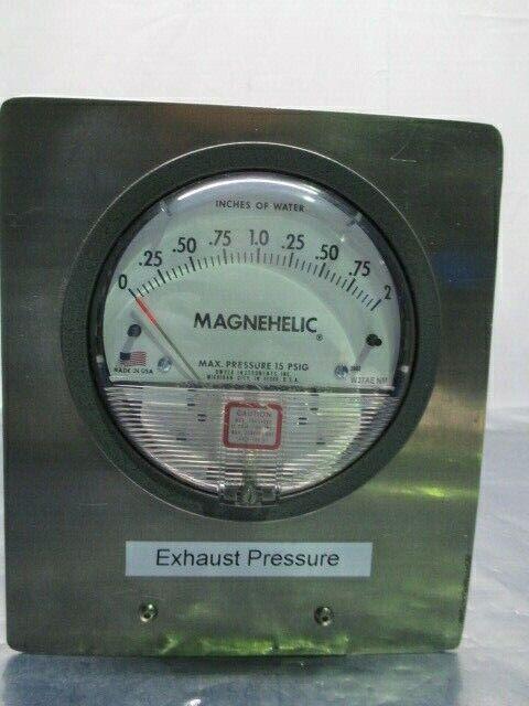 Dwyer W27AE NM Magnehelic Pressure Gauge Assy, 15 PSIG, 453787