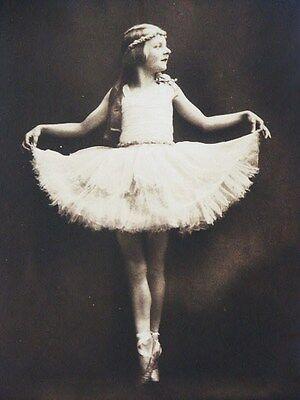 MAX NEHRDICH TANZ KINDER FOTO BALLETT  ART DECO DANCER CHILD PHOTO SIGNED !