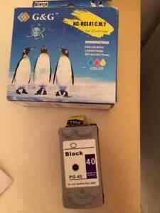 Printer cartridges NEW: PG-40 and CL-41