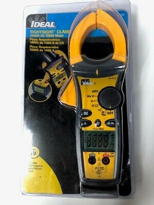 Ideal 61-773 Tightsight Clamp Meter 1000a W Trms