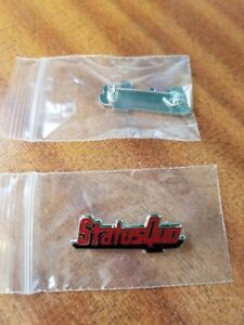Brand new Status Quo enamel pin badge