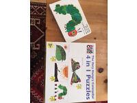 Eric Carle Hungry Caterpillar Puzzle & Book
