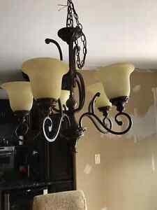 Beautiful Wrought iron chandelier