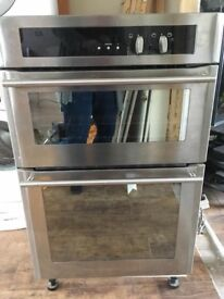 Stoves intergrated double gas oven and grill