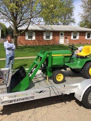 Front End Loader For John Deere Garden Tractor
