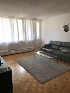 1 bedroom fully furnished/1 chambre tous meubler