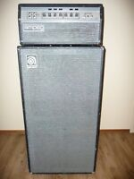 Vintage Ampeg SVT Bass Amp – Early 70s Classic